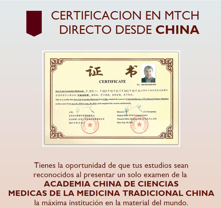 Certificación de Auriculoterapia